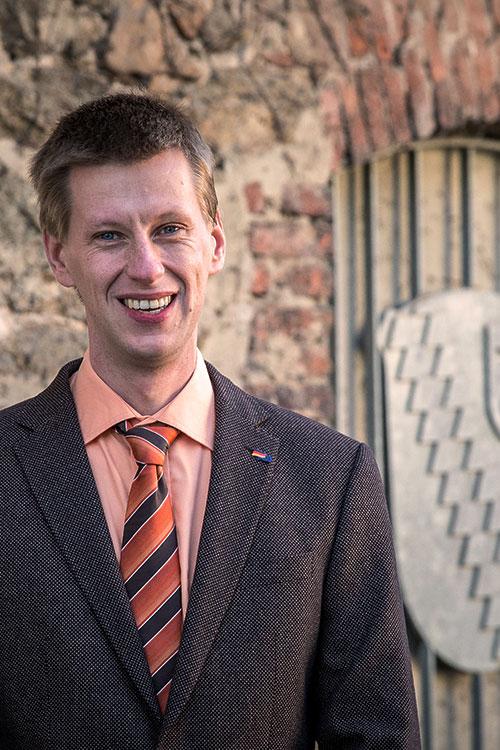 Fraktionsvorsitzender Timo Wesp