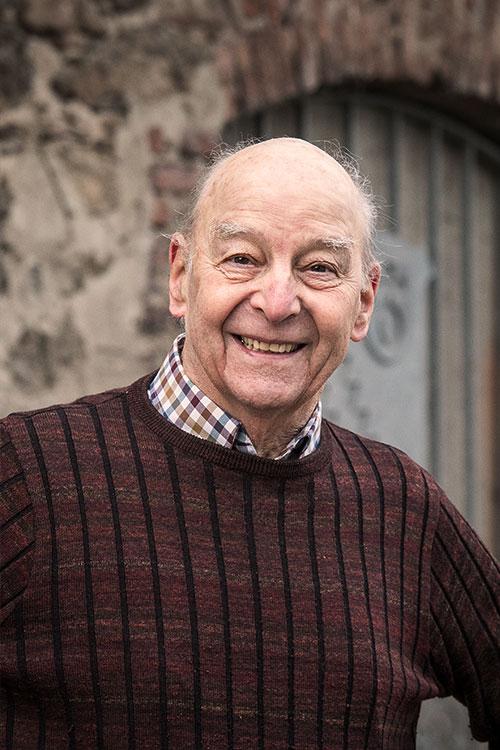 Ehrenvorsitzender Robert Middel